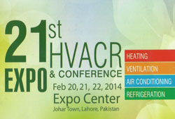 Pakistan HVACR 21st Expo & Conference 2014